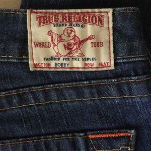 "True Religion ""Bobby"" cut into Capri's Size 31"